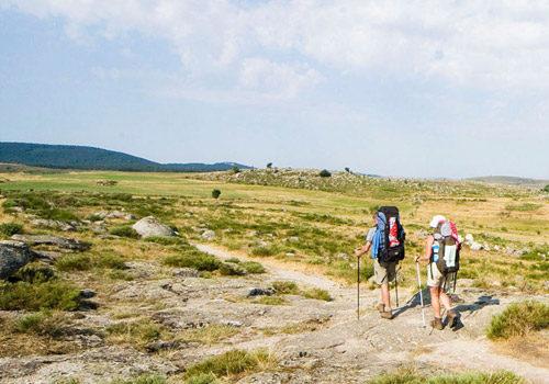 Randonnée en Lozère à proximité du gîte Lou Saltret en région Occitanie